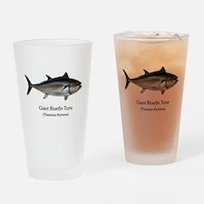Bluefin Tuna Drinking Glass