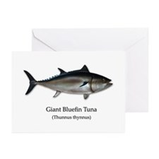 Bluefin Tuna Greeting Cards (Pk of 20)