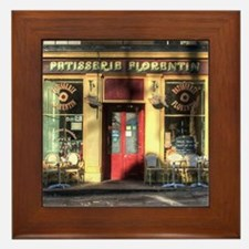 Old Fashioned store Framed Tile