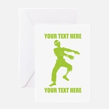 Personalized Zombie Greeting Card