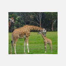 Baby Giraffe Throw Blanket