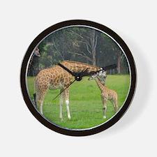 Baby Giraffe Wall Clock