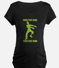 PERSONALIZED Zombie Maternity T-Shirt