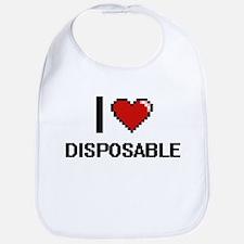 I love Disposable Bib