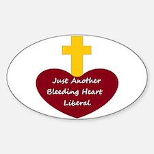 Bleeding Heart Liberal Decal