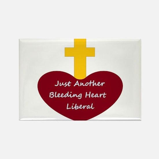 Bleeding Heart Liberal Magnets