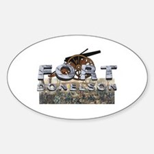 ABH Fort Donelson Sticker (Oval)