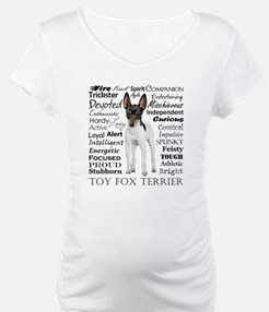 Toy Fox Terrier Traits Shirt