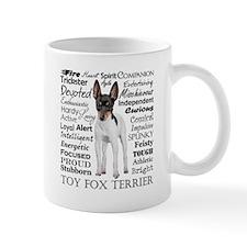 Toy Fox Terrier Traits Mugs