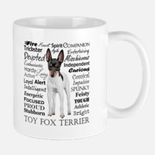 Toy Fox Terrier Traits Mugs