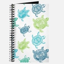 Blue and Green Turtles Journal