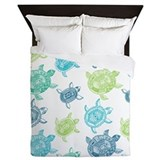 Sea turtle Queen Duvet Covers