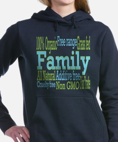 Healthy Family Women's Hooded Sweatshirt