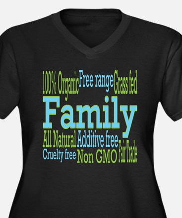 Healthy Family Plus Size T-Shirt