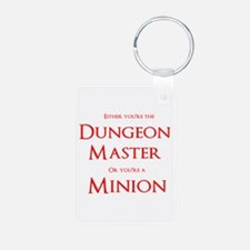 Dungeon Master or Minion Keychains