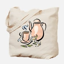Unique Teacup Tote Bag