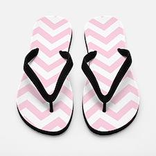 Pink, Baby: Chevron Pattern Flip Flops