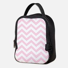 Pink, Baby: Chevron Pattern Neoprene Lunch Bag