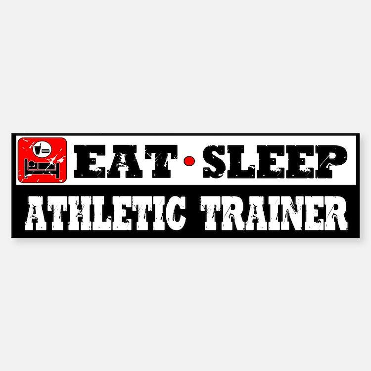 Athletic Trainer Bumper Bumper Sticker
