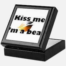 Kiss Me I'm A Bear & Bear Pri Keepsake Box