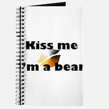 Kiss Me I'm A Bear & Bear Pri Journal