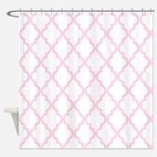 Baby Girl Pink Moroccan Pattern (In Shower Curtain