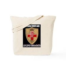 Seizure First Aid Shield Tote Bag