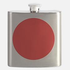 Square Japanese Flag Flask