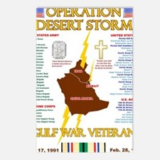 operation desert storm gu Postcards (Package of 8)