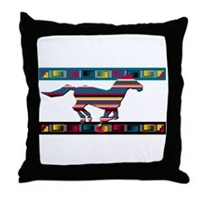 St. labre indian school Throw Pillow