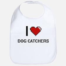 I love Dog Catchers Bib