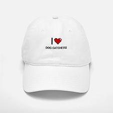 I love Dog Catchers Baseball Baseball Cap