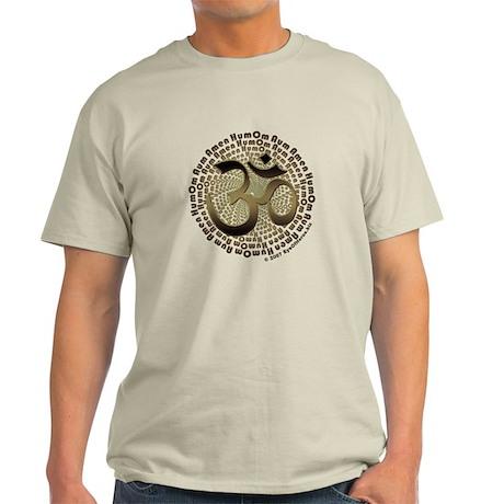 Sepia Om Aum Light T-Shirt