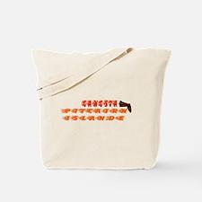 Gangsta Christmas Islander Tote Bag