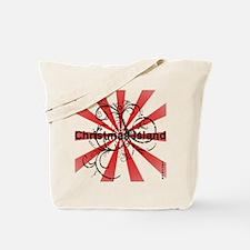Vintage Christmas Island Tote Bag