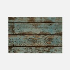 rustic western turquoise barn wood Magnets
