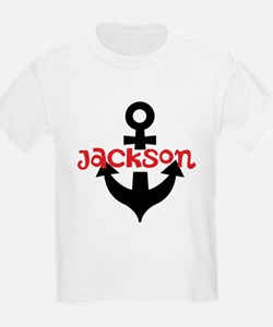 Personalized Cruise Anchor T-Shirt