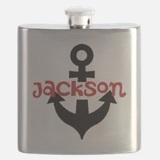 Personalized Cruise Anchor Flask