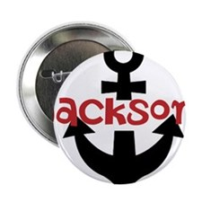 """Personalized Cruise Anchor 2.25"""" Button (10 pack)"""