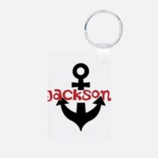 Personalized Cruise Anchor Keychains