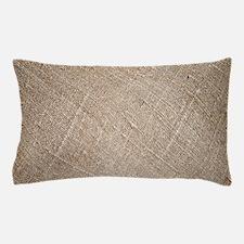 shabby chic vintage burlap Pillow Case