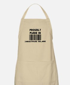 Proudly Made in Christmas Isl BBQ Apron