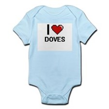 I love Doves Body Suit