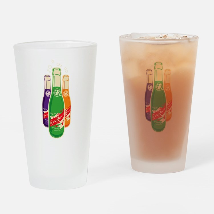 Glen Rock Three Drinking Glass
