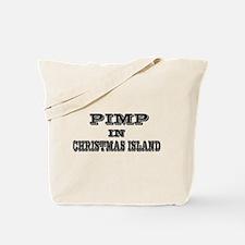 Pimp in Christmas Island Tote Bag