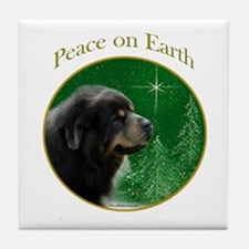 Tibetan Mastiff Peace Tile Coaster
