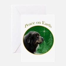Tibetan Mastiff Peace Greeting Card