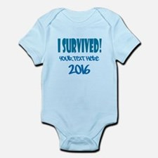 Custom I Survived Infant Bodysuit