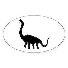 Brachiosaurus Oval Decal