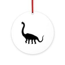 Brachiosaurus Ornament (Round)